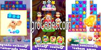 Коды для Candy Crush Friends Saga