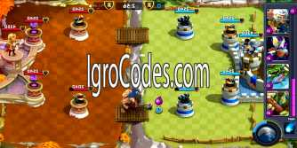 Коды для Castle Creeps Battle