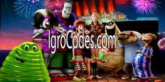 Коды для Hotel Transylvania Monsters