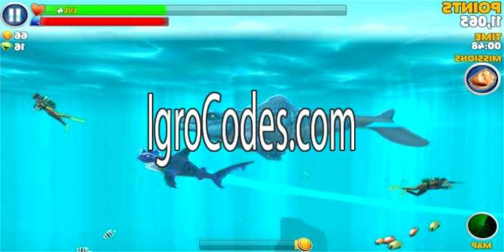 Взлом игры Hungry Shark Evolution