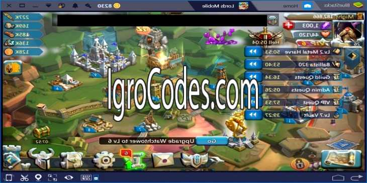 Взлом игры Lords Mobile