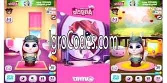 Коды для My Talking Angela